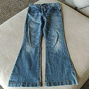 Girls Gap Jeans size 8 Regular flare cut